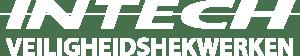 Logo Intech veiligheidsnetwerken wit
