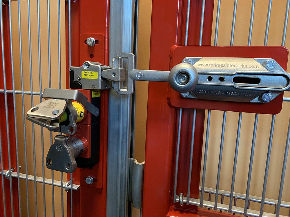 Fortress Interlocks trapped key-slot