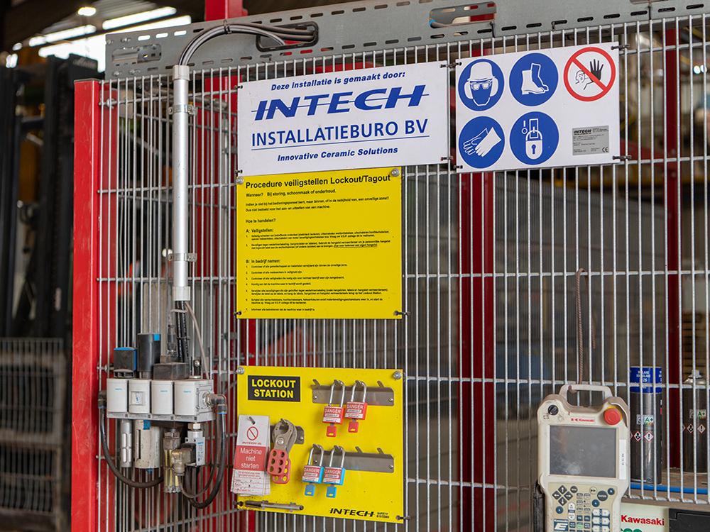 LoToTo veiligheidsslot voor effectieve machineafscherming